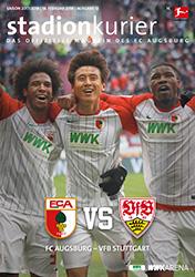 Stadionkurier FC Augsburg - Hannover 96 Saison 2017/2018